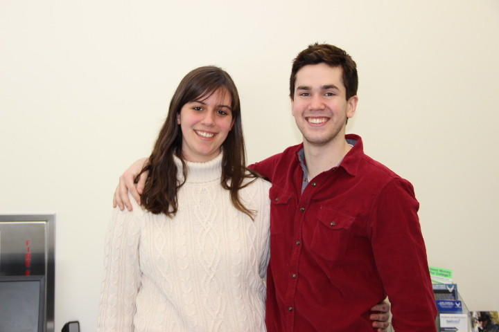 Marisa Mitrano and Thomas Doelger.