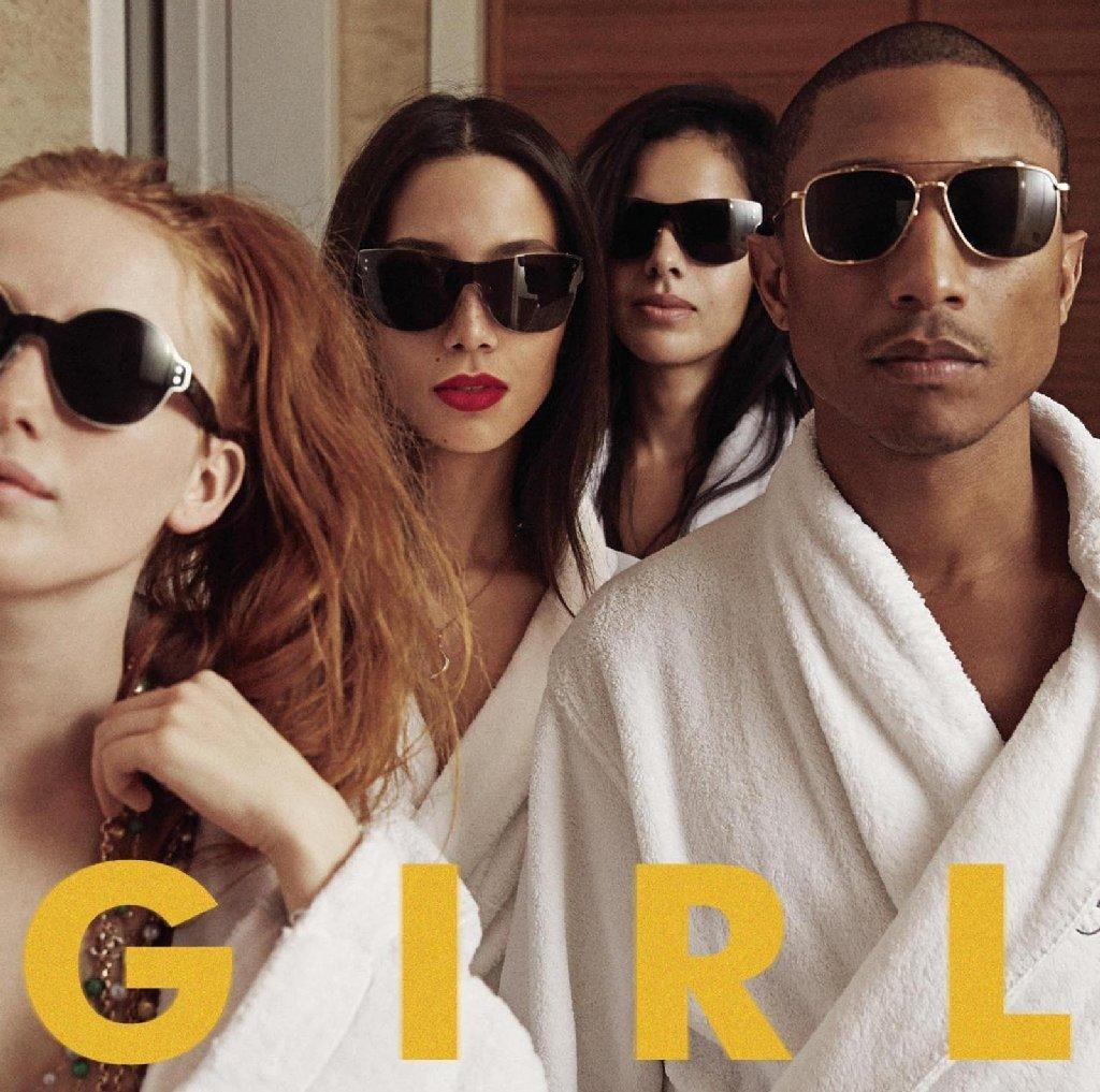 """Girl"" is the first album by Pharrell Williams in eight years."