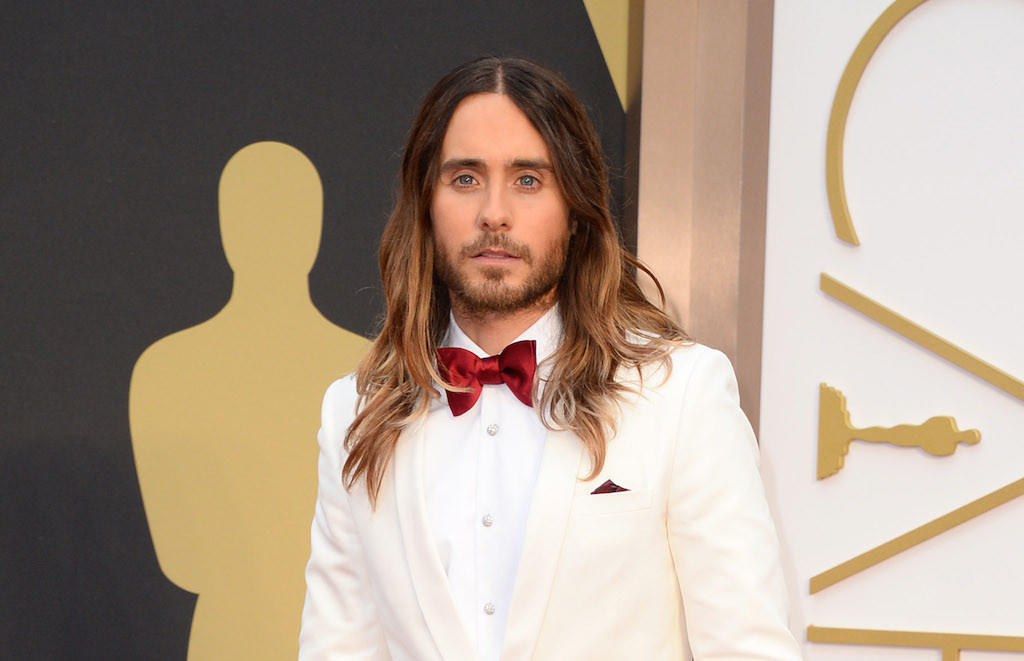 Jared Leto at the Oscars.