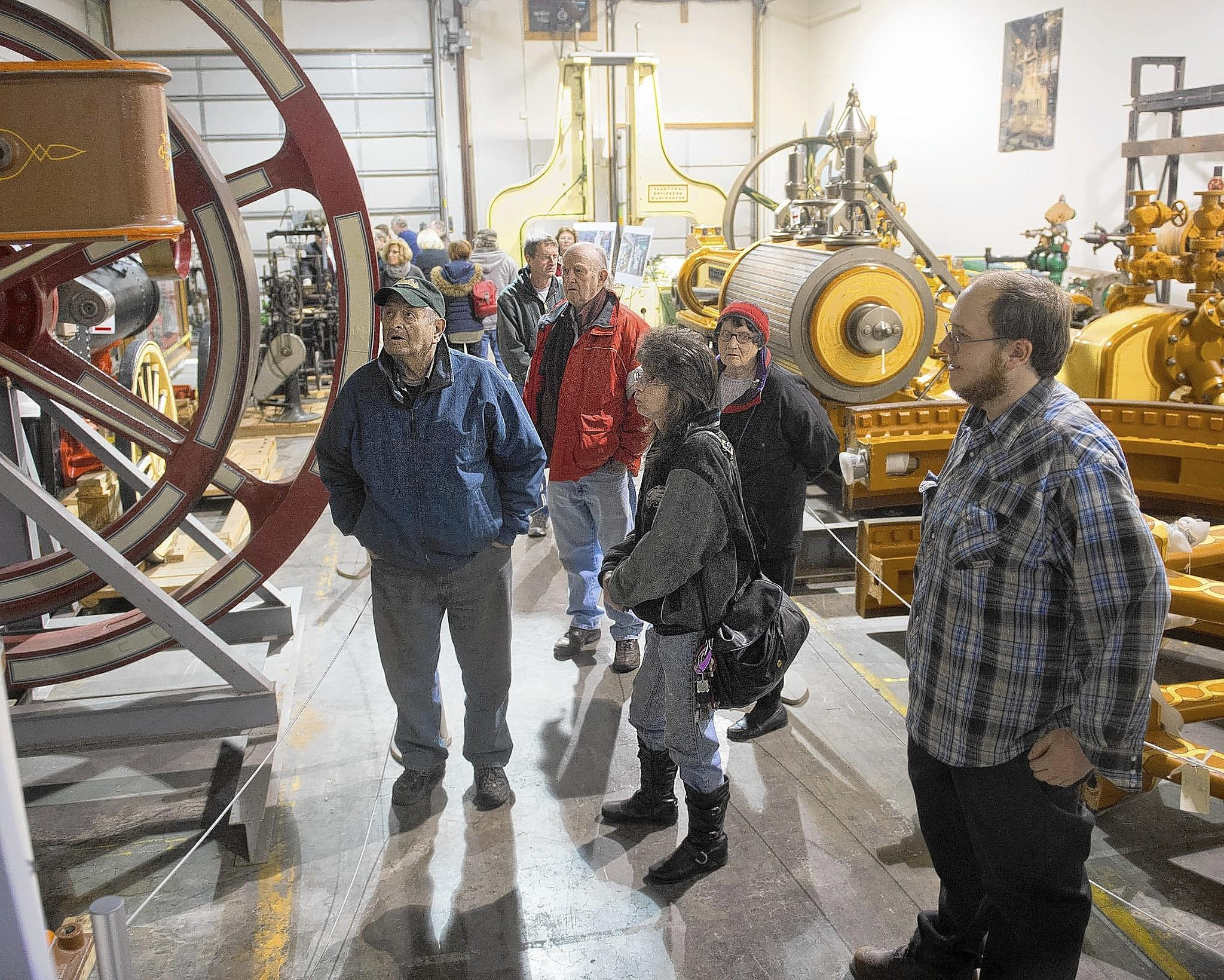 The National Museum of Industrial History held an open house to show its artifacts for the public in Hanover Township, Lehigh County on Sunday.