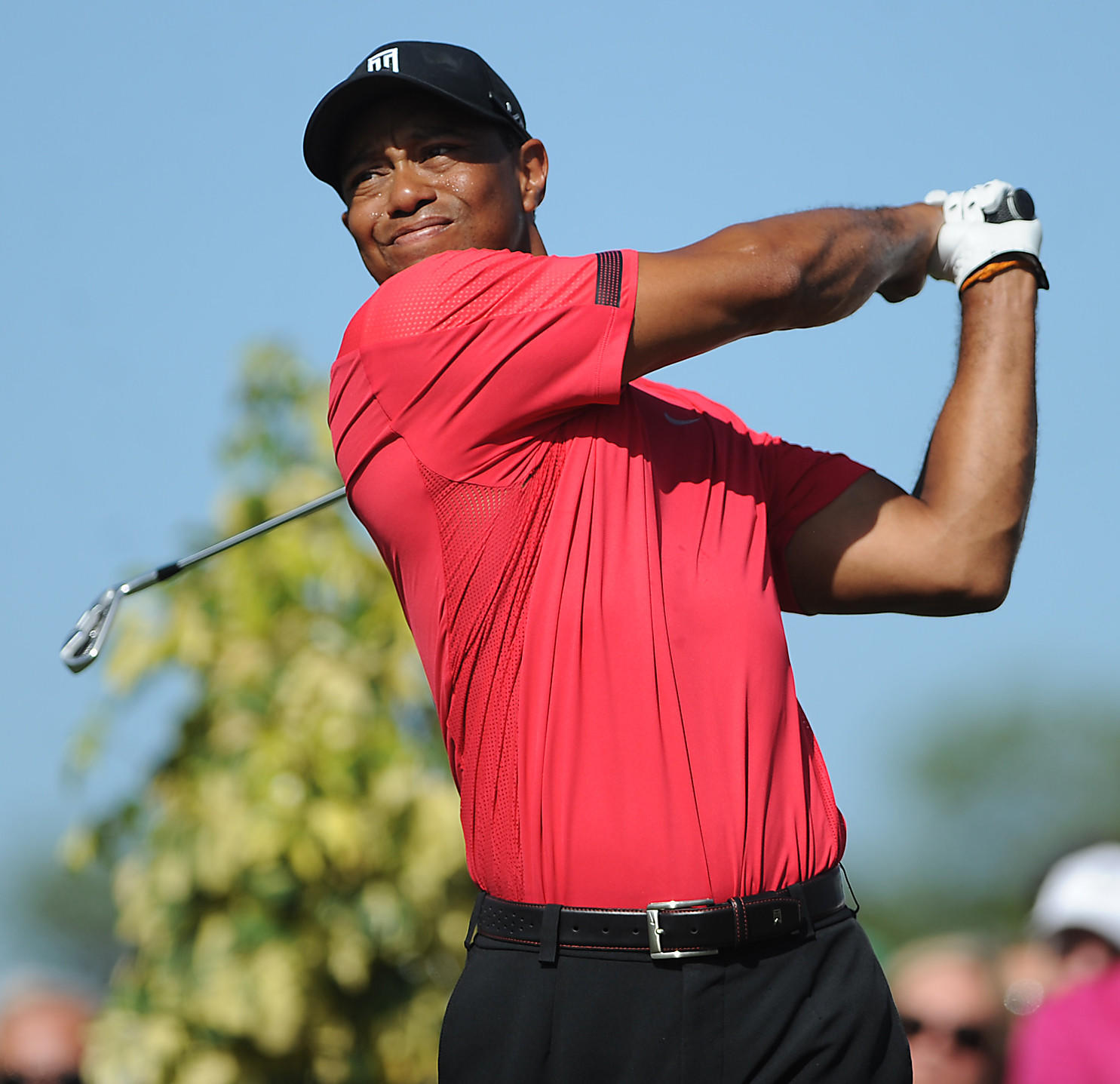 Tiger Woods at Honda Classic final round Sunday
