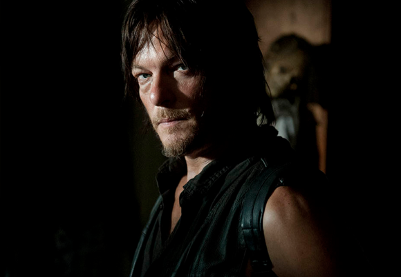Daryl Dixon (Norman Reedus) has a low tolerance for moon shine