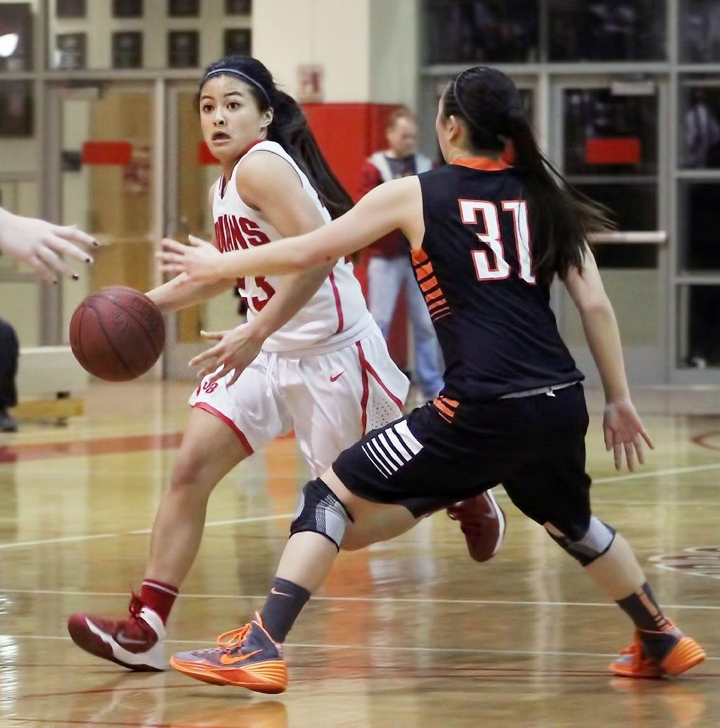 Paula Garcia and the Burroughs High girls' basketball team lost Saturday in the CIF quarterfinals.