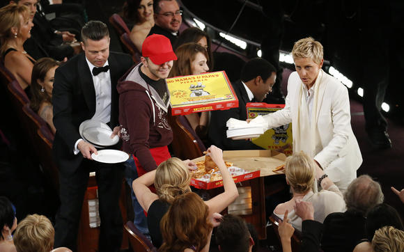 Oscars 2014: Ellen DeGeneres' performance as host slices both ways