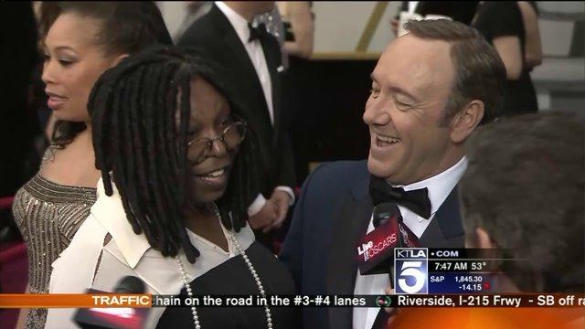 2014 Oscars Red Carpet Odd Couples and After Party