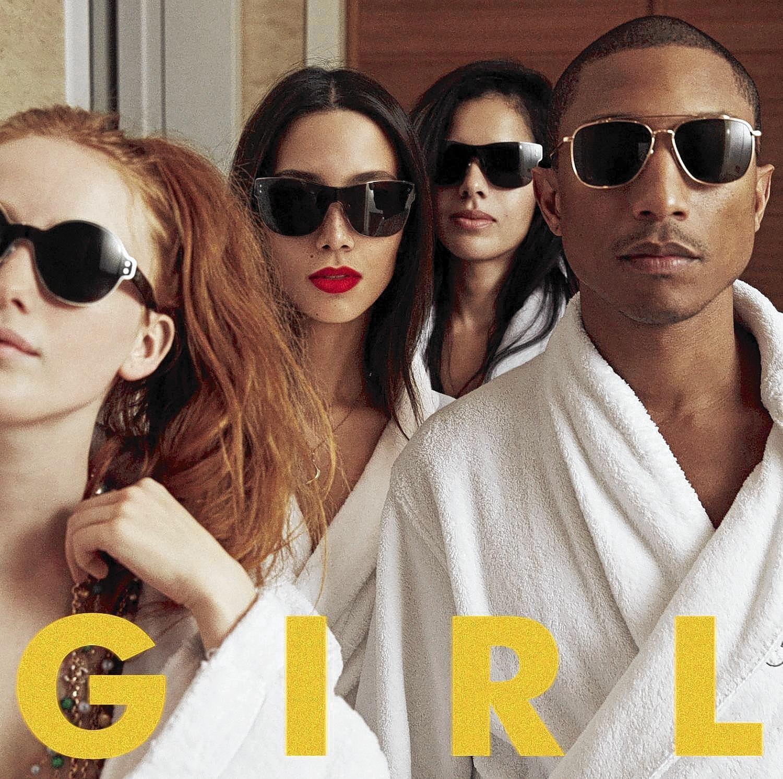 """Album cover for Pharrell Williams' """"G I R L."""""""
