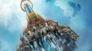 Busch Gardens: Falcon's Fury to open May 1