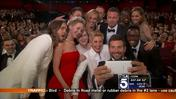 Ellen DeGeneres Takes 'Selfies' to a Whole New Level During the Oscars