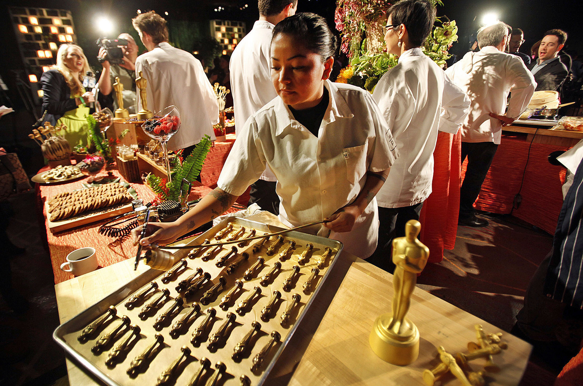Oscars 2014 Governors Ball fare: Oysters, truffles and potato chips - LA Times