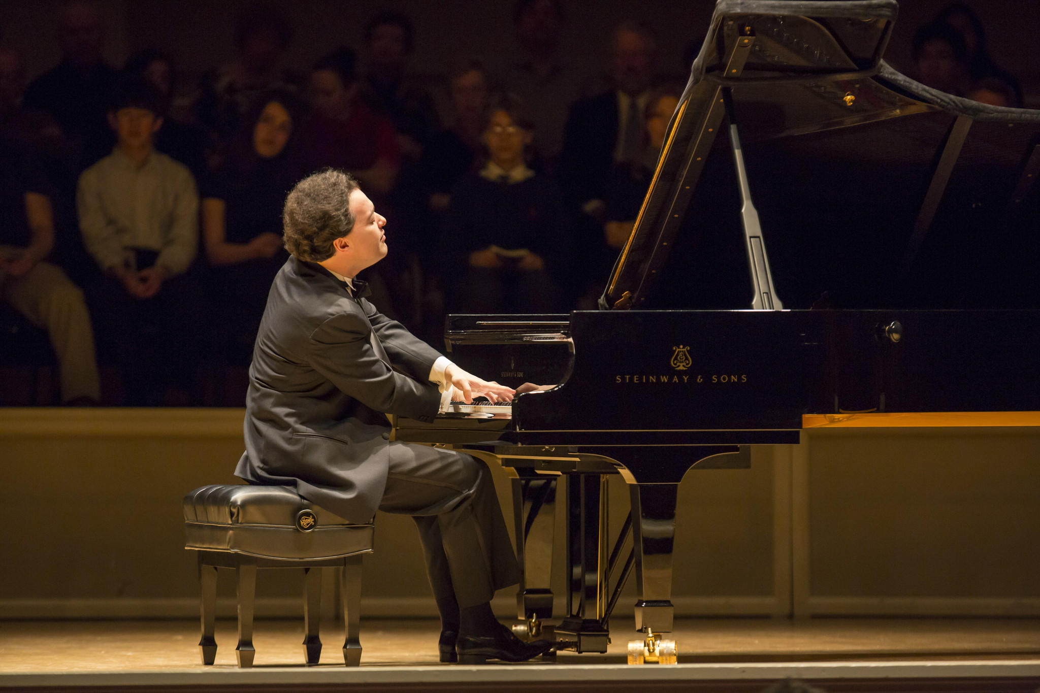 Pianist Evgeny Kissin performing in 2013.