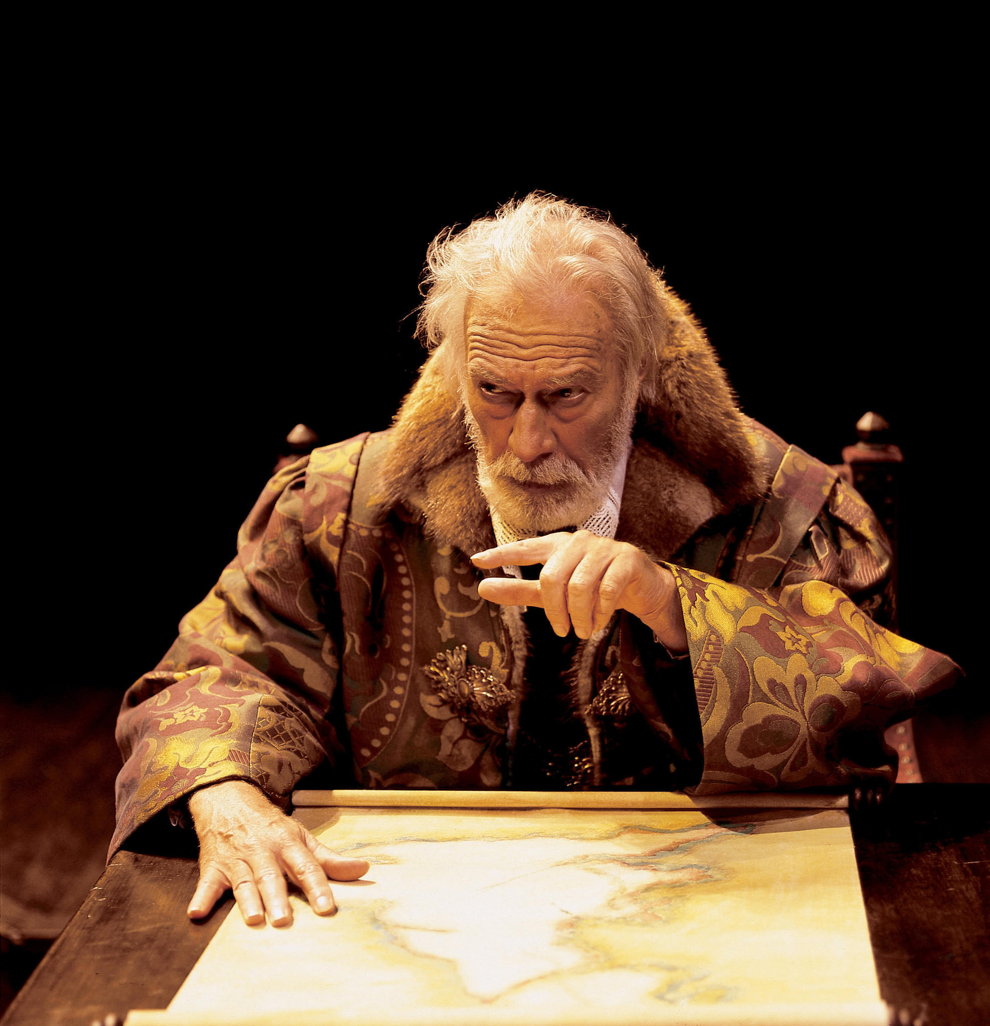 Christopher Plummer as King Lear.