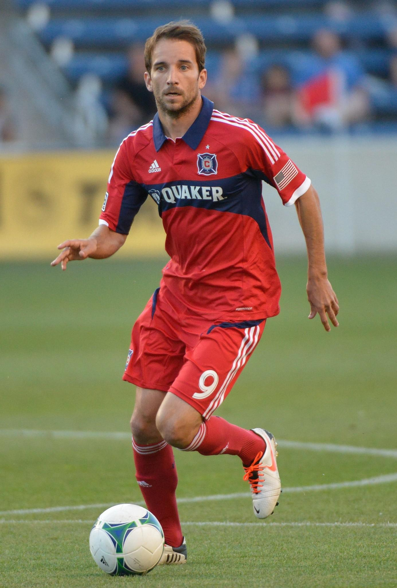 Chicago Fire star Mike Magee is back with the team.