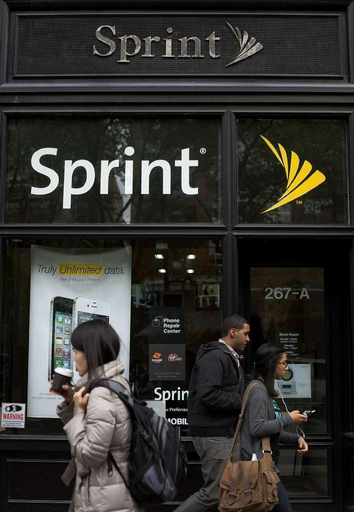 Sprint store in New York City. The federal government is suing the telecom, alleging overcharges.