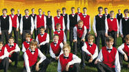 Czech Republic Boys Choir Performs in Glenview, Wednesday, March 12, 2014