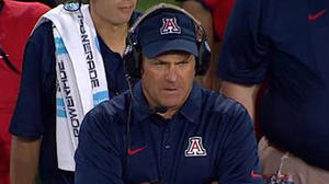 Watch Arizona's Rich Rodriguez mock proposed rule with 'Speed' parody