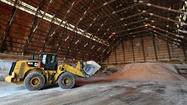 Local governments scramble to restock salt supplies