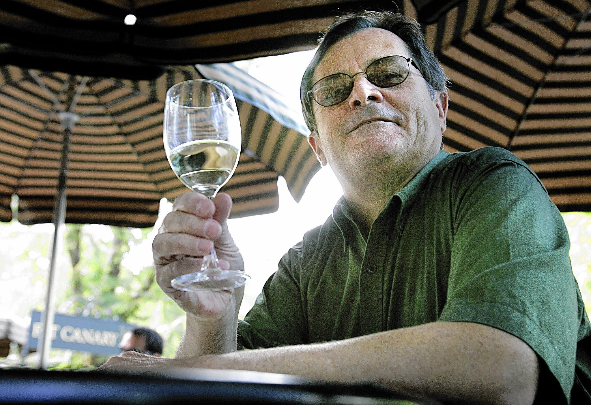 "Miles Lambert of Williamsburg author of ""Desert Island Wine"" and ""Tokaji Wine-Fame, Fate, Tradition,"" is shown here in 2007."