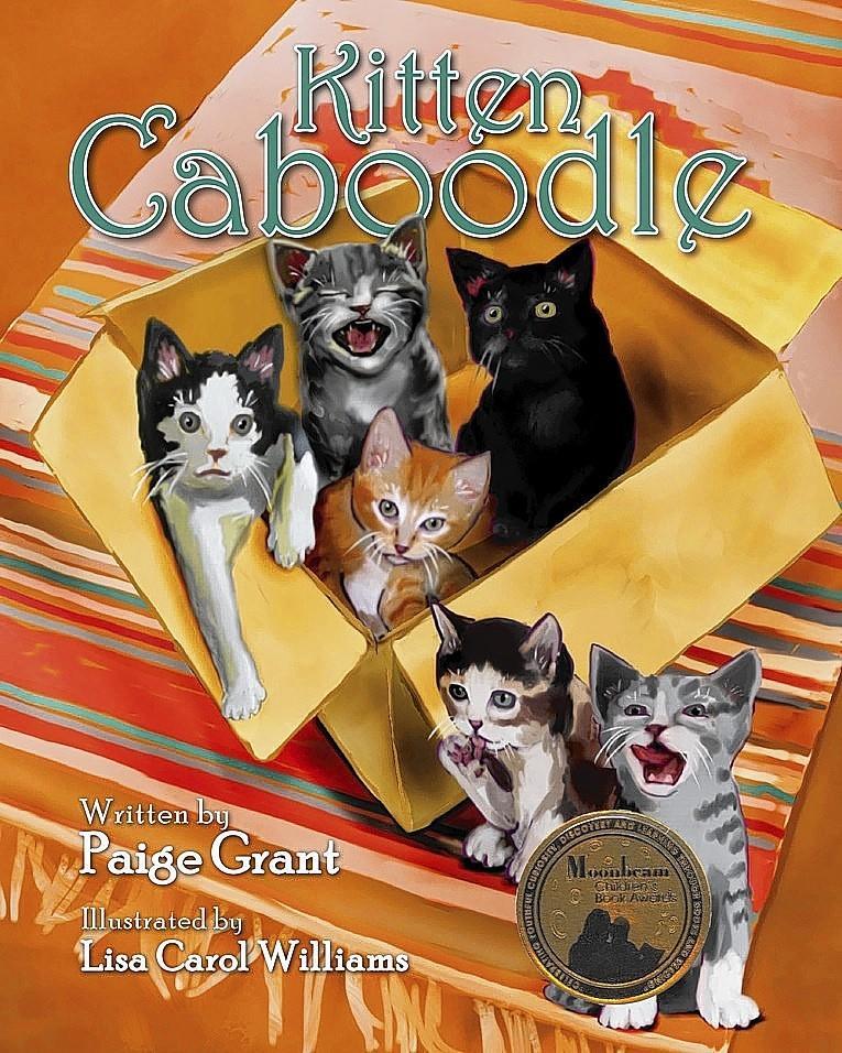 "Williamsburg's Lisa Carol Williams illustrated ""Kitten Caboodle,"" Bronze Award winner for Pre-teen Fiction, 2013 Moonbeam Children's Fiction Awards"