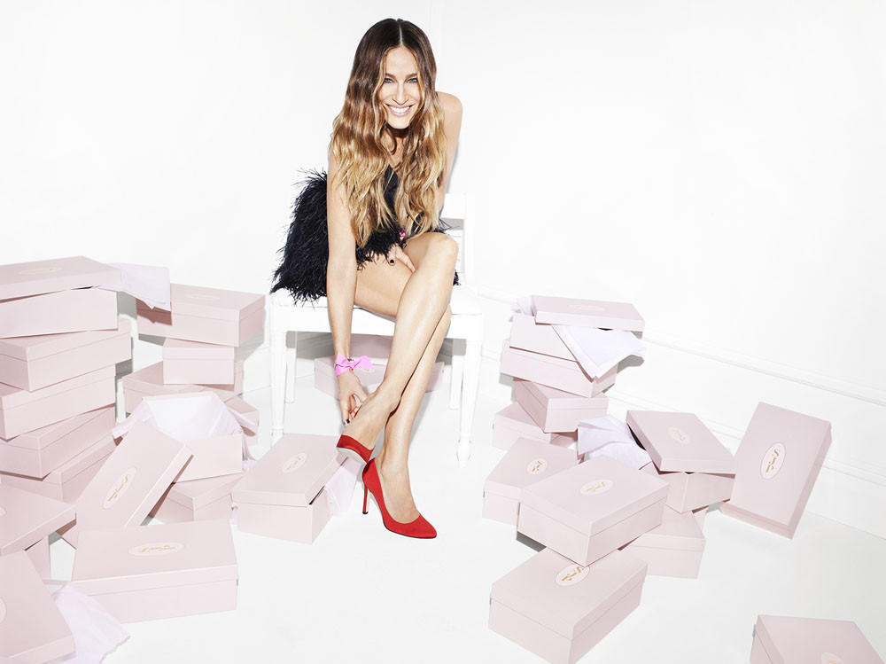 Sarah Jessica Parker knows a few things about shoes -- now she's started her own line of them.