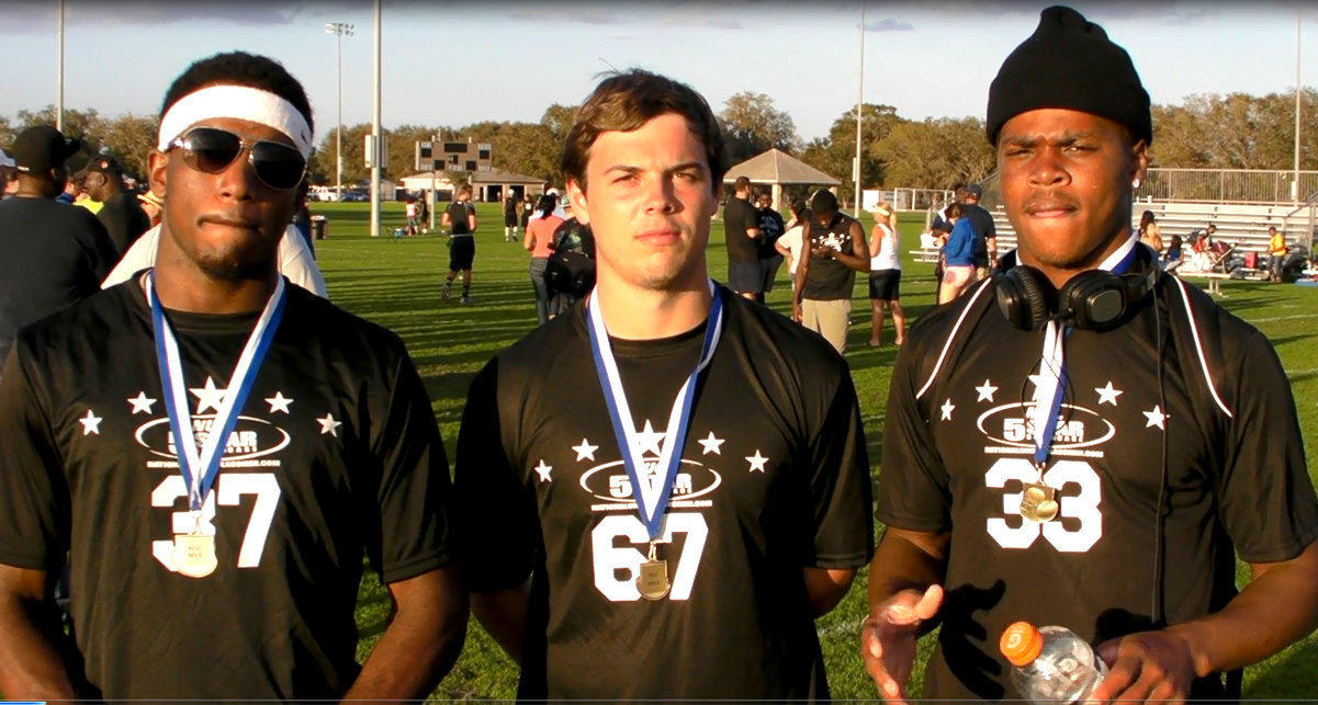 Top quarterbacks in Florida battled Sunday at the NUC Five-Star Challenge in Kissimmee.