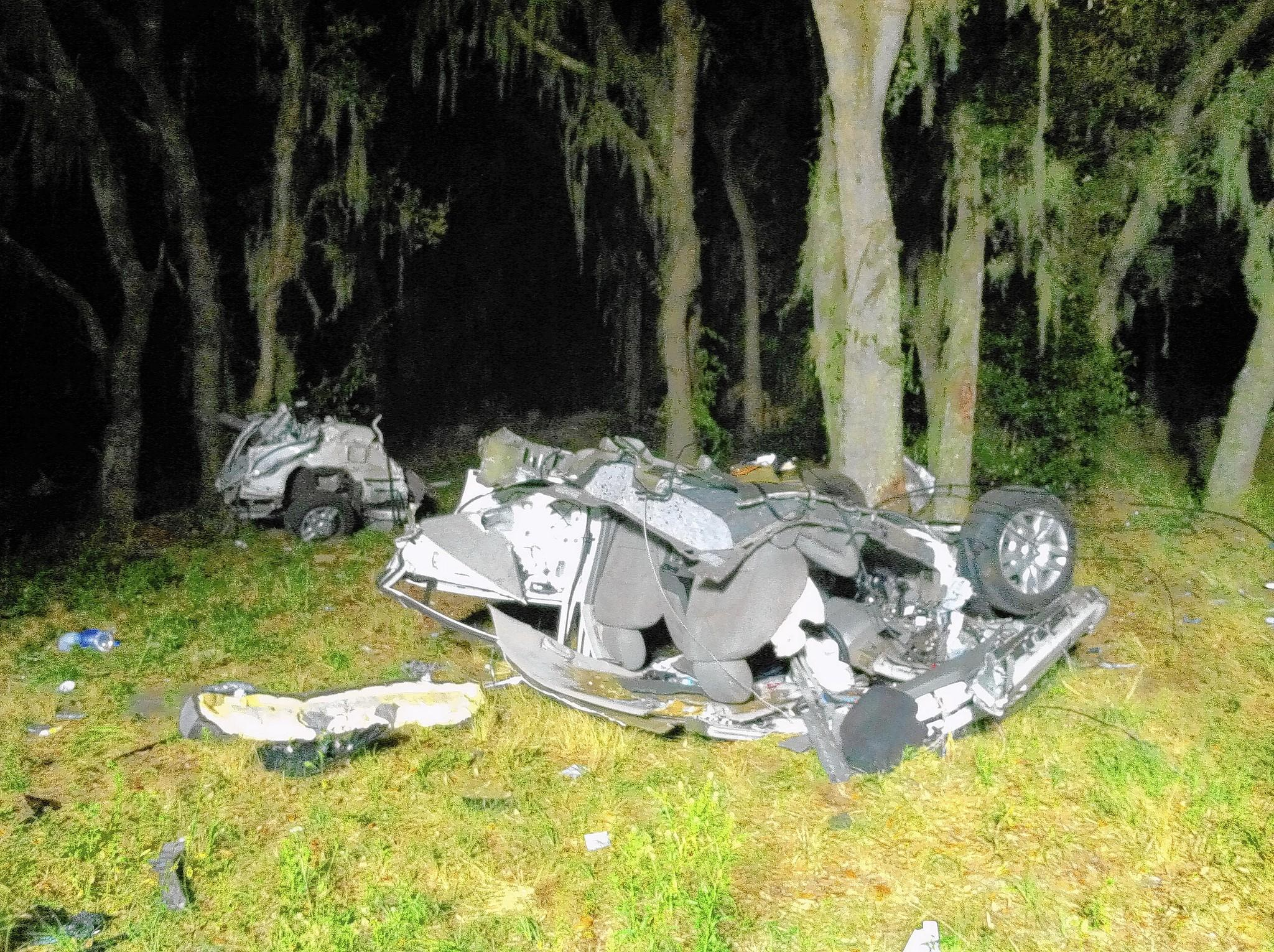 Karen Reynolds Johnson, 49, died when she lost control of her speeding car March 3, 2014 in Polk County, the Sheriff's Office said.
