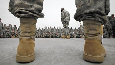 Nearly 1 in 5 had mental illness before enlisting in Army, study says