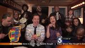 Jimmy Fallon and Idina Menzel Sing 'Let It Go' With Classroom Instruments