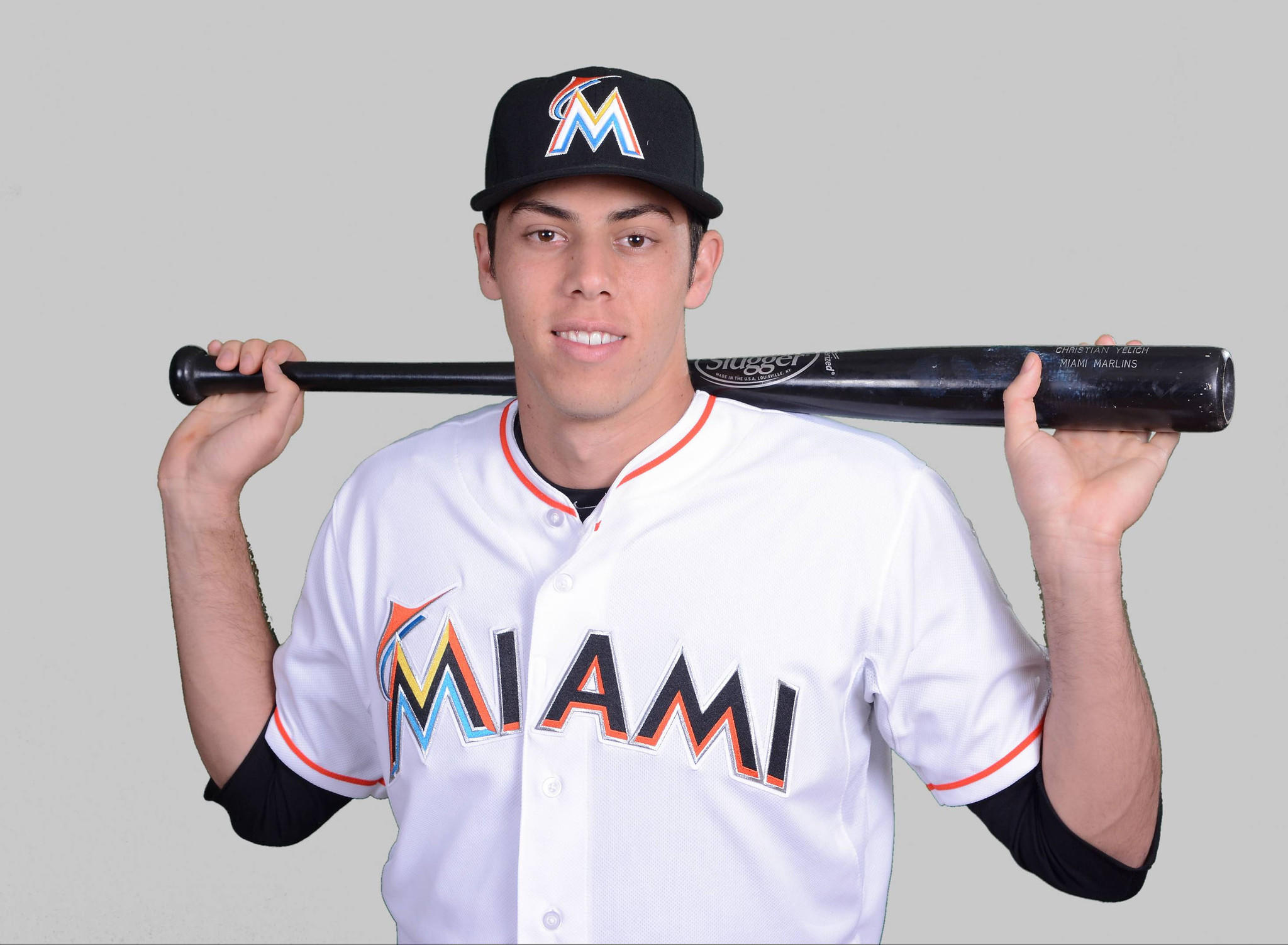 Miami Marlins outfielder Christian Yelich chose baseball despite coming from a football family.