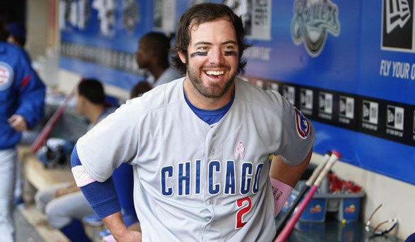 Angels infielder Ian Stewart, shown with the Cubs in 2012, suffered a nose injury recently while with his daughter.