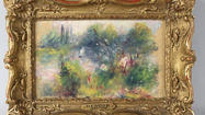 Stolen Renoir to go on display March 30