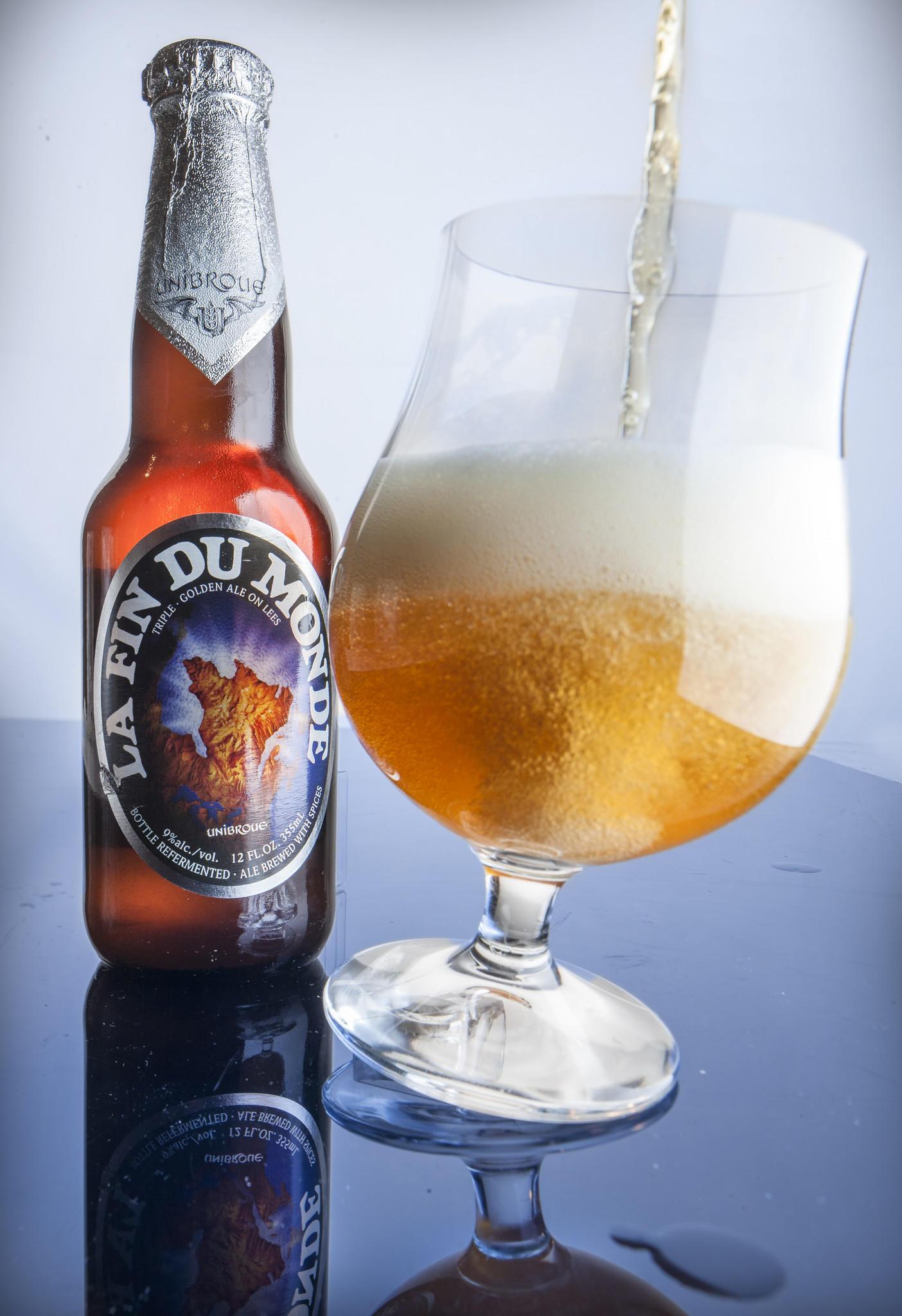 La Fin Du Monde Ale.