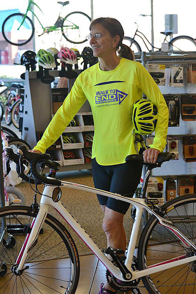 Rona Altschuler, chair of the local Walk to End Alzheimer?s, will participate in a cross country bicycle ride that she is using to benefit the Alzheimer?s Association. She leaves March 7 from California and will ride for 58 days, finishing up in Florida.
