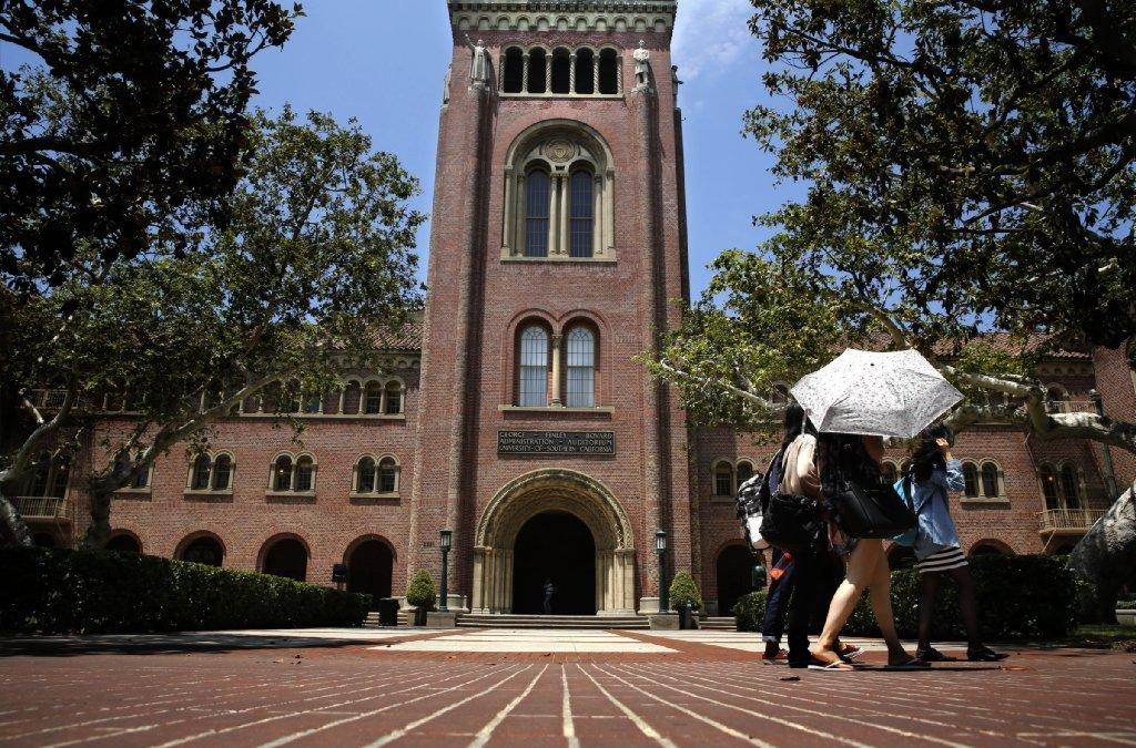 A view of the University of Southern California.