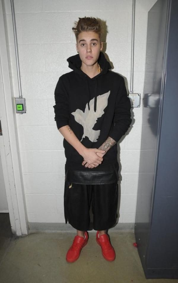 Photographs of Justin Bieber were taken as part of his arrest Jan. 23 on charges of driving under the influence, driving with an expired license and resisting arrest.