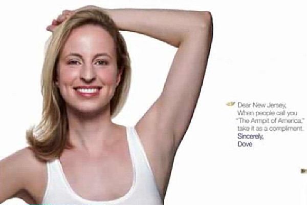 Dove kills ad calling New Jersey 'the Armpit of America'