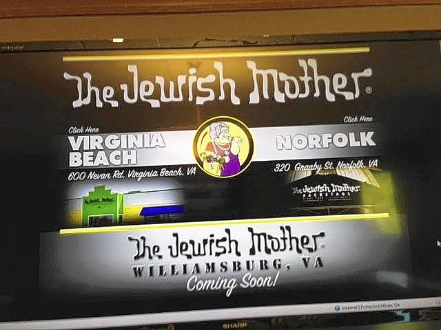 The Jewish Mother, a restaurant and live music venue in the Hilltop district of Virginia Beach, unexpectedly closed its doors this week. Plans to open a Williamsburg location are still on track, the owner says.