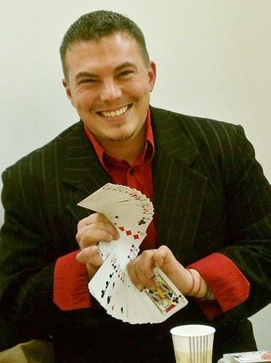 Magician Mike Kelley will perform his strolling magic at the March 15 Spring Dance to benefit PARC, Family Centered Services for People with Developmental Disabilities.