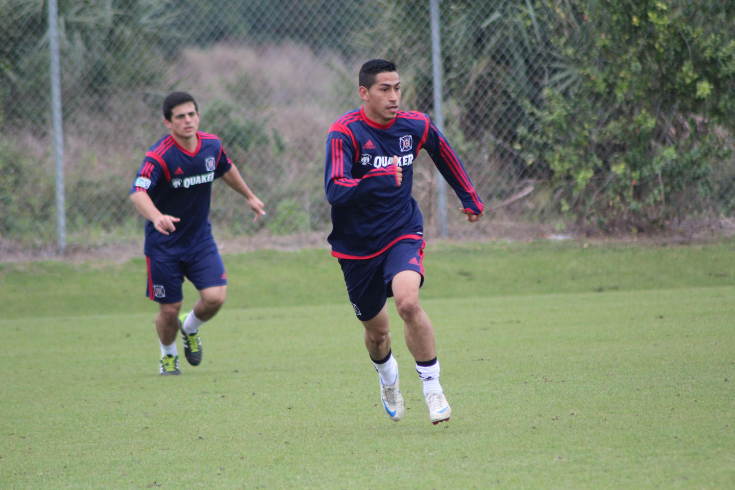 Until this week, Fire midfielder Benji Joya had never seen snow.
