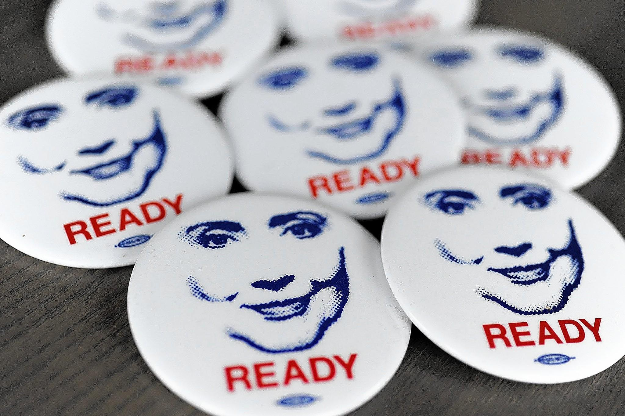 "Ready for Hillary, a ""super PAC"" urging Hillary Rodham Clinton to run for president in 2016, already has campaign buttons for supporters."