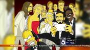 'The Simpsons' Recreate the Oscars Selfie Photo