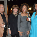 Dr. Sidney Stern, Florence Stern, Dianne Hudson and Veranda Dickens
