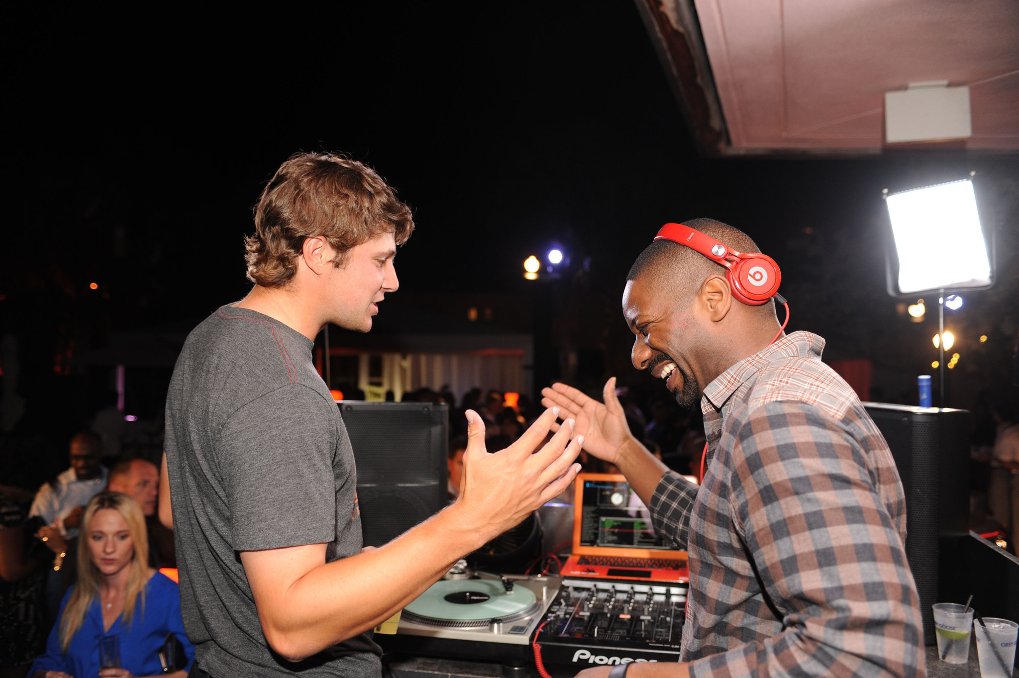 World Golf Championships-Cadillac Championship parties - Peter Uihlein and Dj Irie1