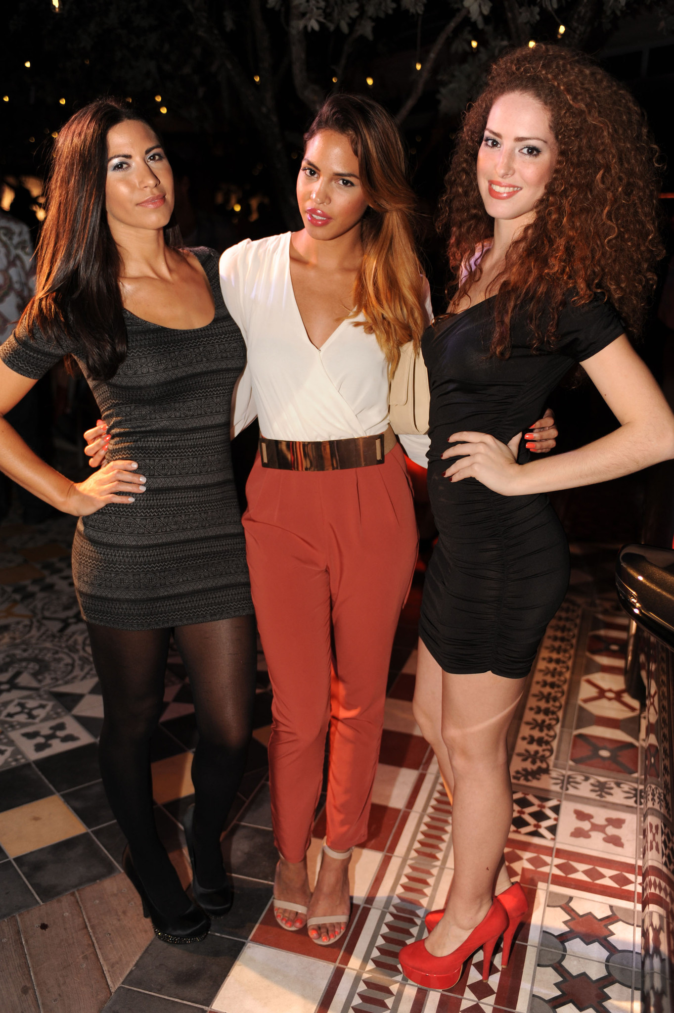 World Golf Championships-Cadillac Championship parties - Mimi Nicole, Paola Urbano and Kiria Fernandez