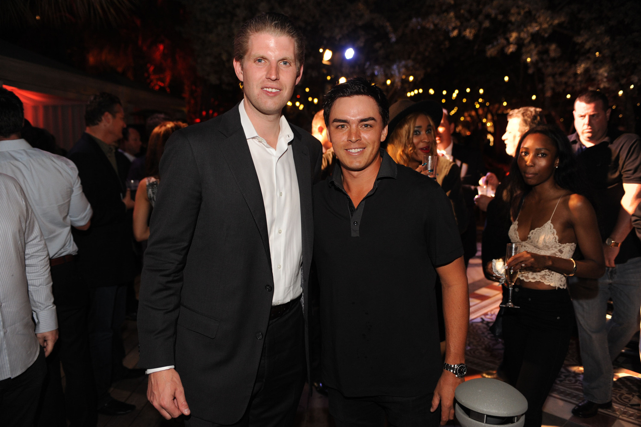 World Golf Championships-Cadillac Championship parties - Eric Trump and Rickie Fowler