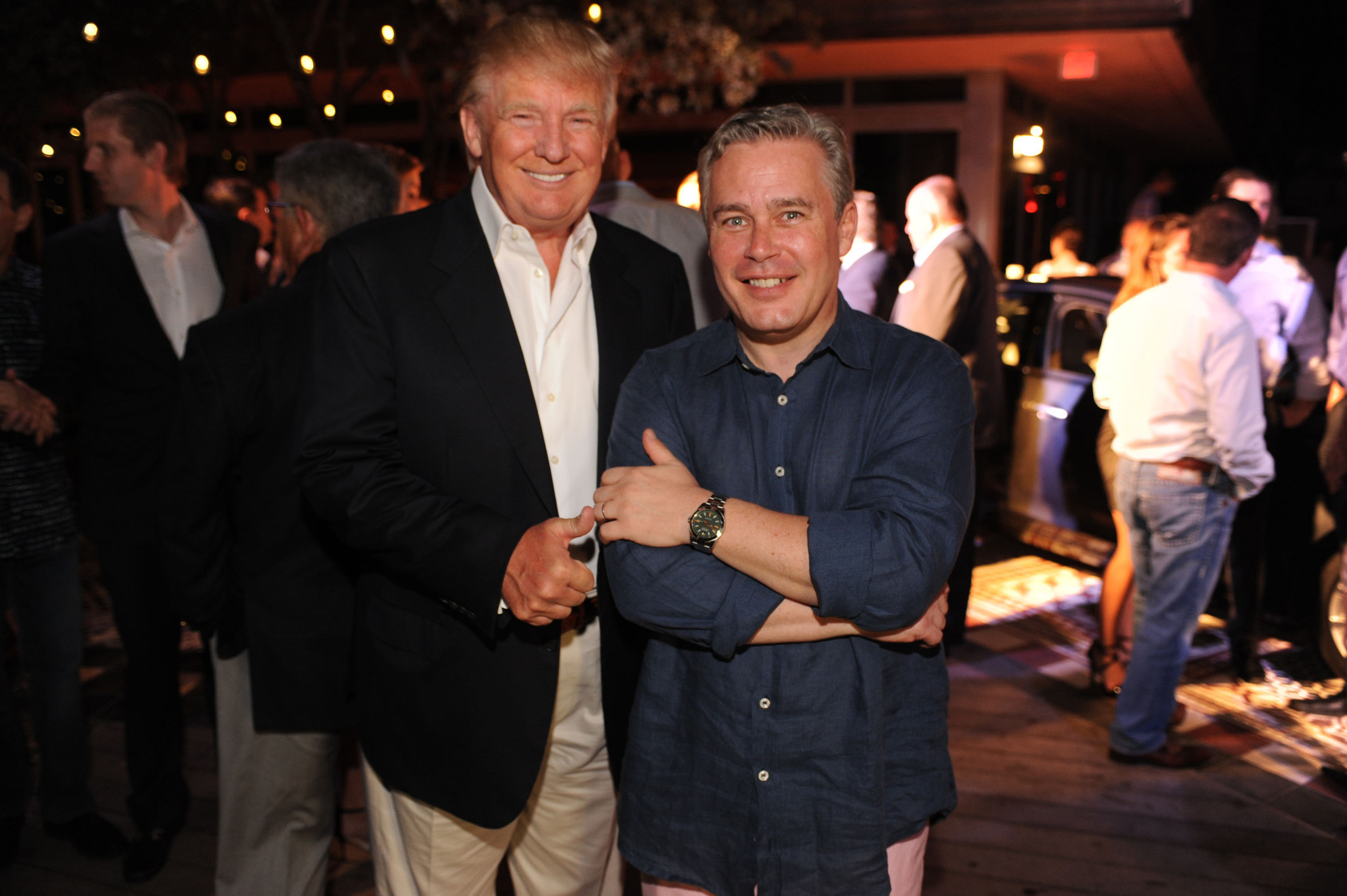 World Golf Championships-Cadillac Championship parties - Donald Trump and Ty Votaw