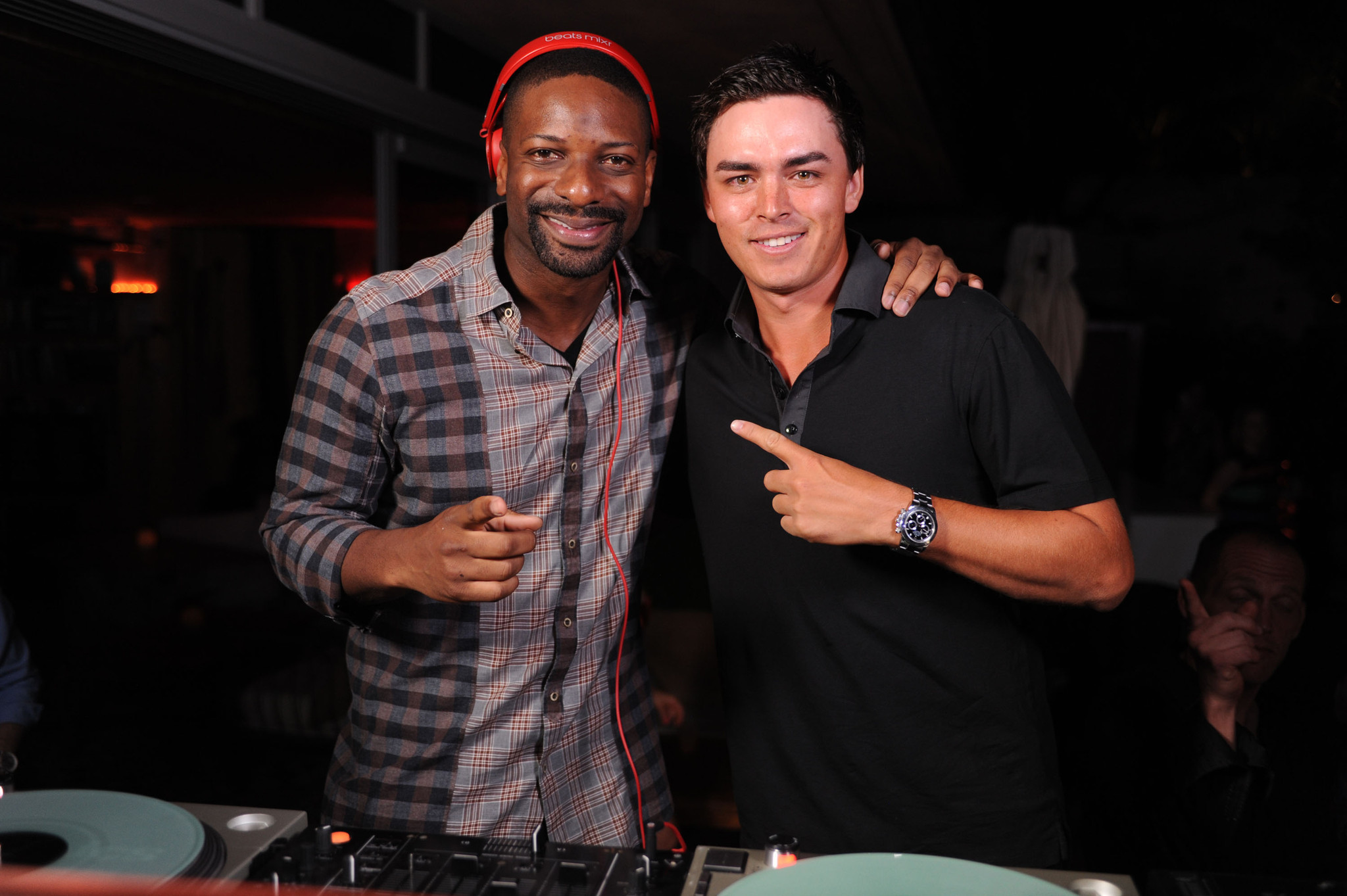 World Golf Championships-Cadillac Championship parties - DJ Irie and Rickie Fowler