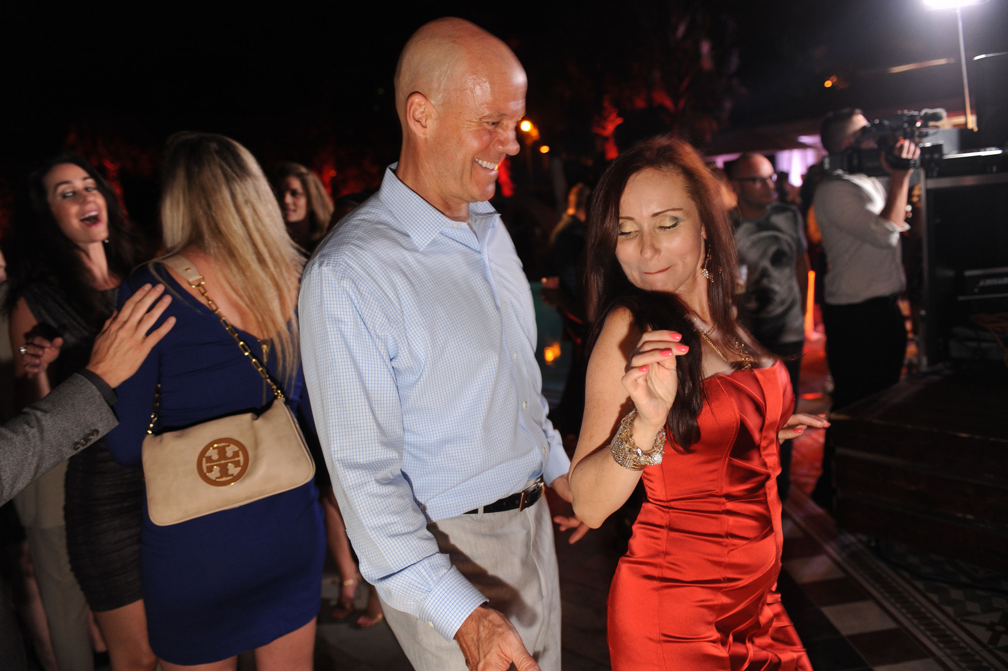 World Golf Championships-Cadillac Championship parties - David Pillsbury and Lily Tapia