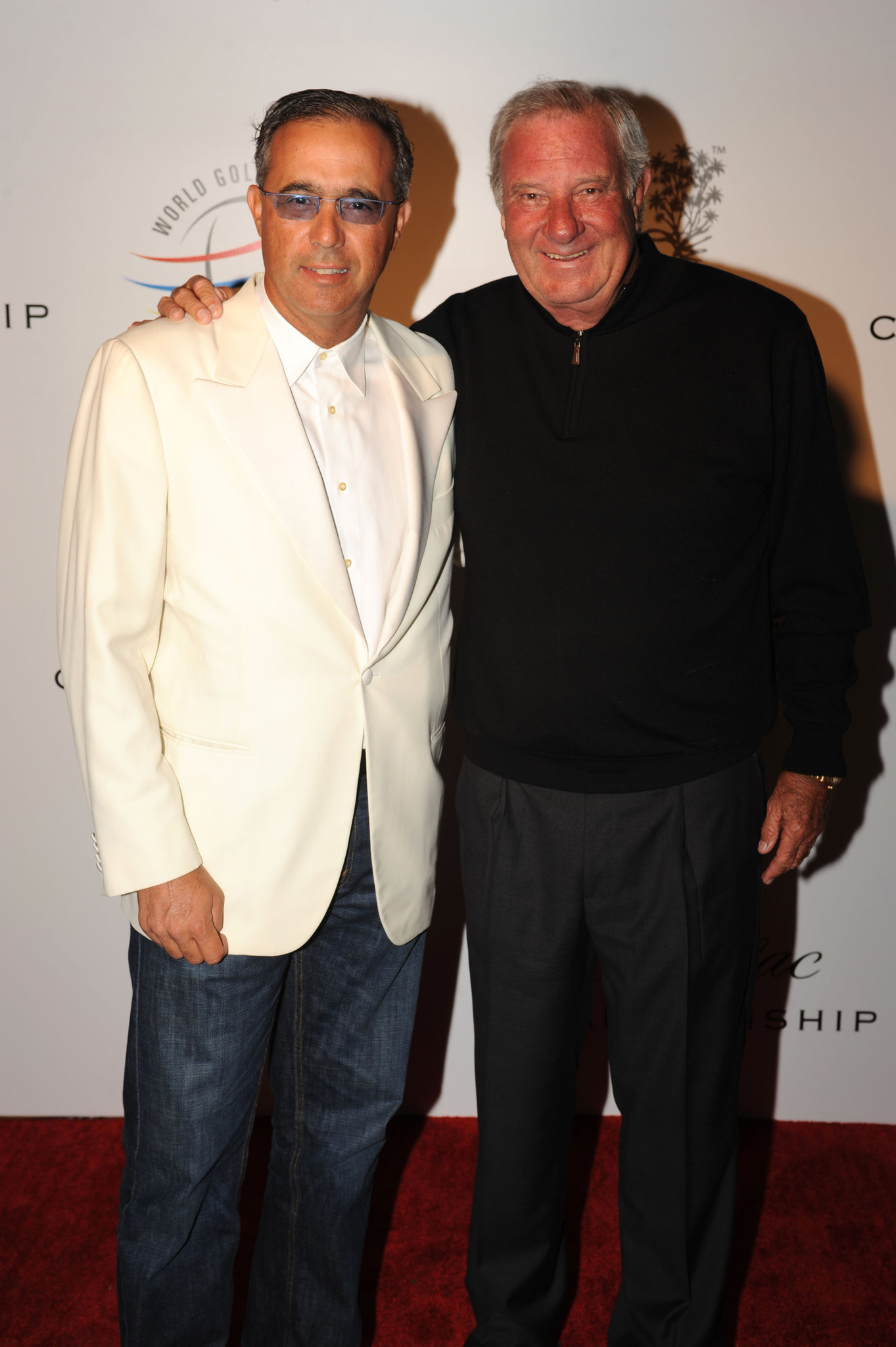 World Golf Championships-Cadillac Championship parties - Andre Gaviria and  Butch Buchholz