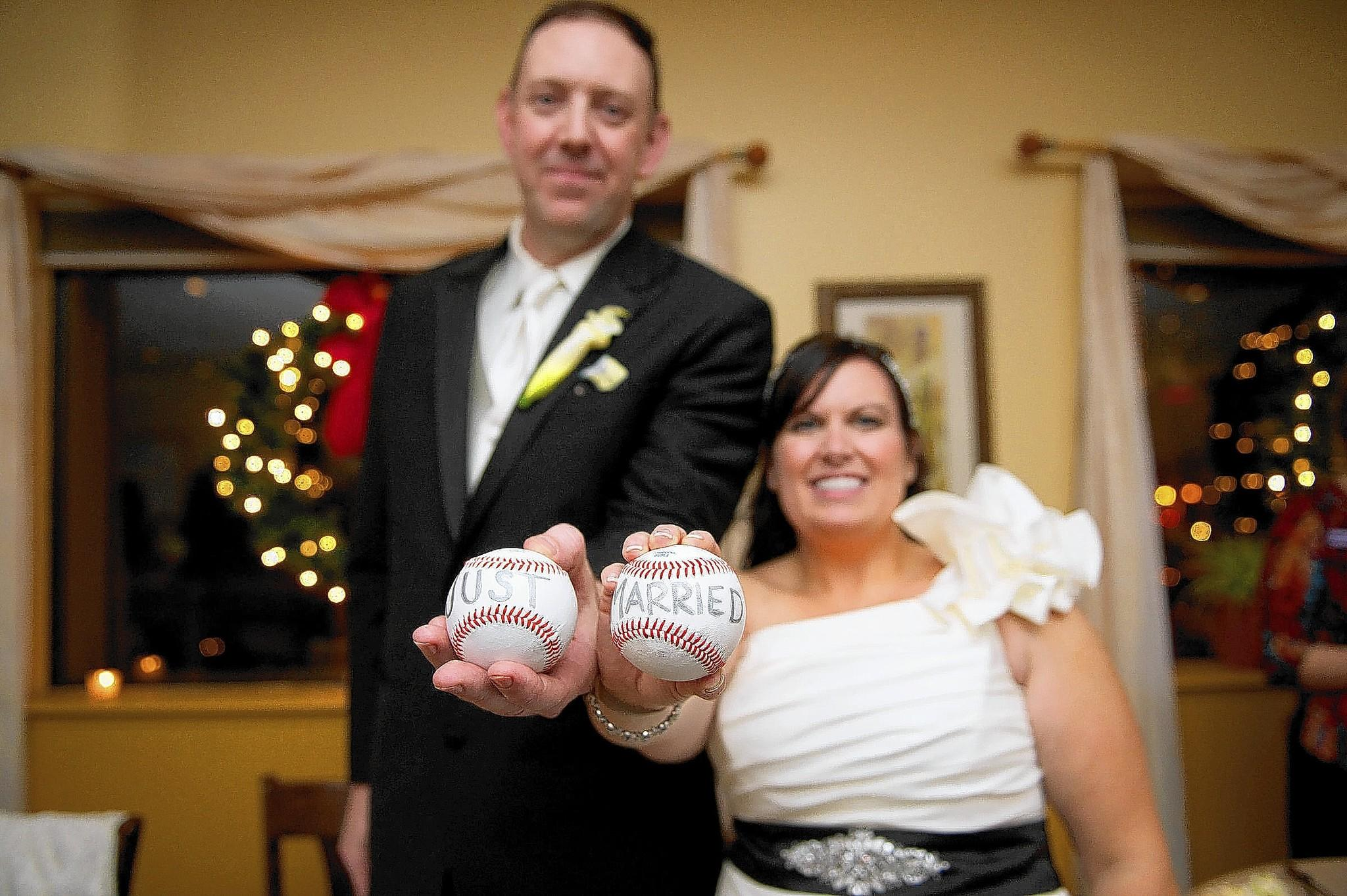 The couple's names are Renee Coshin and Peter Coolbaugh. Photo credit: Gobrail Photography.