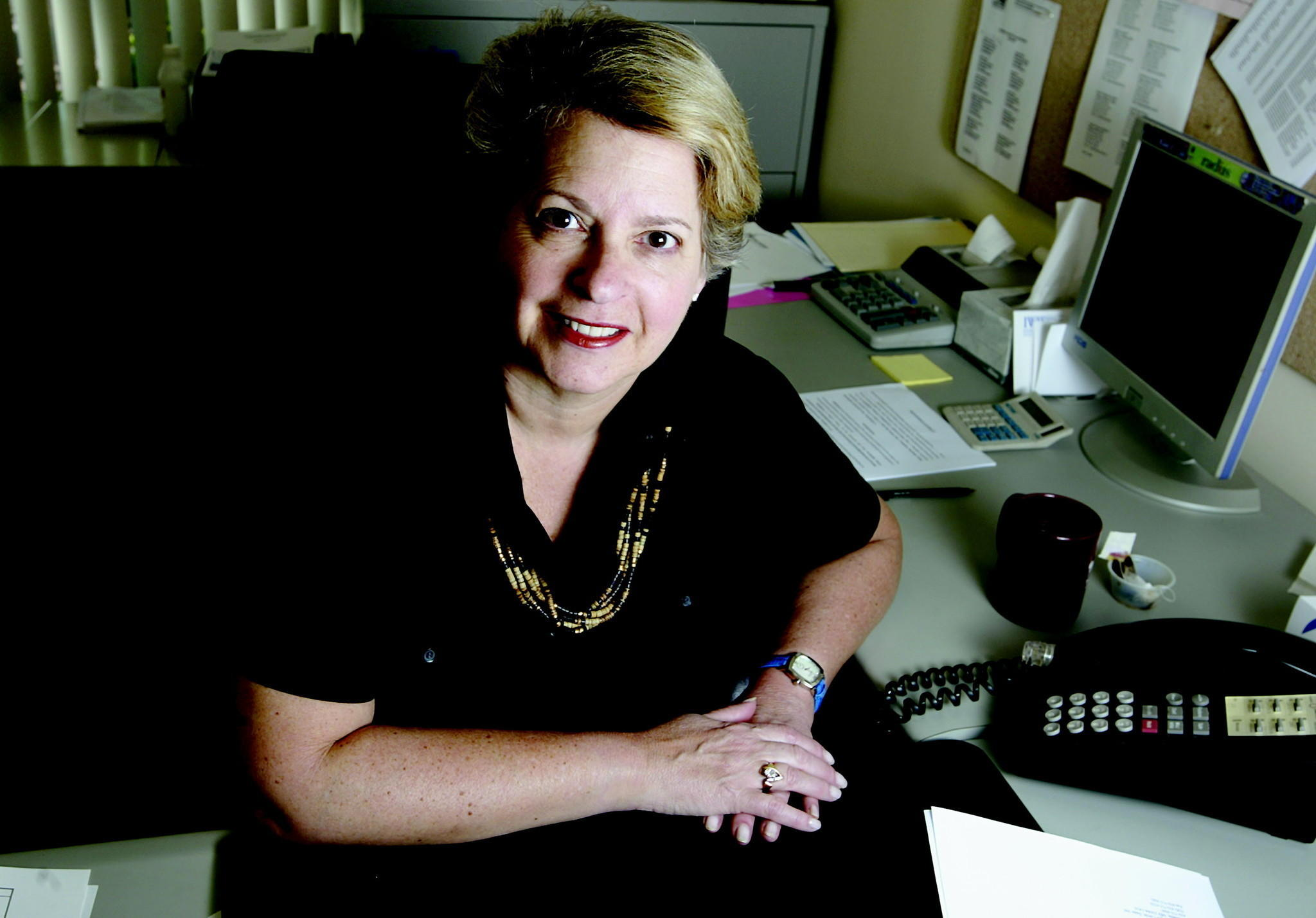 Wendy Tzuker will retire after 27 years as the Harper's Choice Village manager.